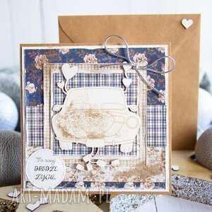 piękna kartka w dniu ślubu / koperta, ślubna, wesele, ślub, na ślub