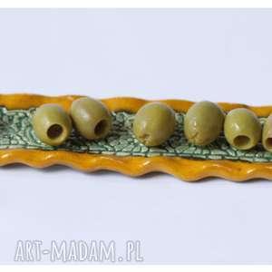 wylegarnia pomyslow podstawek na oliwki orientalny, ceramika, podstawek