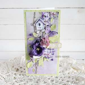 scrapbooking kartki kartka urodzinowa/imieninowa, 545, urodziny, imieniny