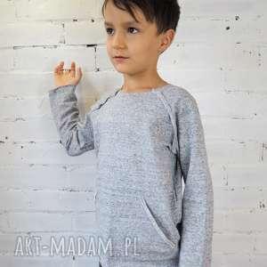 bluza BASIC gray, bluza, raglan, dziecko, szkoła, przedszkole, wiosna