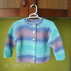 sweterek fantazyjny, sweterek, rękodzieło, włóczka, bawełniany, niemowlę