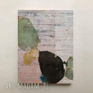 romantico - wielkoformatowy obraz na płótnie abstrakcyjny art, kremowy