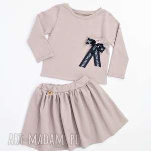 Komplet spodnica i bluza duzo kolorow, spódnica, zestaw, dziewczynki, dres,
