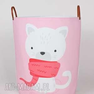 Prezent Ogromny pojemnik z kotem, kot, pojemnik, dziecko, prezent, urodziny
