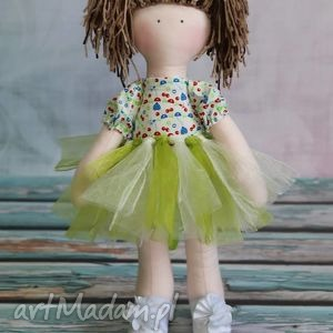 lalka marcysia - szmacianka, balerinki, miś, tutu