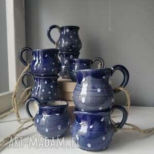 ceramika zestaw z 8 miniaturowych dzbanuszków ozdób choinkowych 3, ozdoby