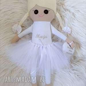 lalki szmacianka lalka na chrzest święty personalizacja, szmacianka, szmaciana