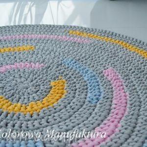 Dywan Rainbow 100cm , dywan, tęcza, kolorowy, bawełniany, chodnik