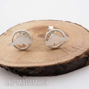jachyra-jewellery srebrne kolczyki bobry - zwierzątka srebro