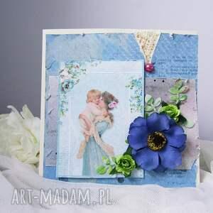 Prezent kartka okolicznościowa dla mamy, mama, prezent, kartka, ona