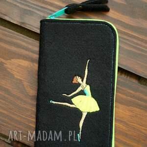 filcowe etui na telefon - baletnica, smartfon, pokrowiec, futerał, prezent