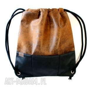 plecak vege gobi czerń, plecak, vegan, lato