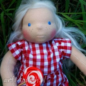 lulu waldorf doll - lalka waldorfska 26 cm, lalka, waldorfska, dziewczynka, barbie