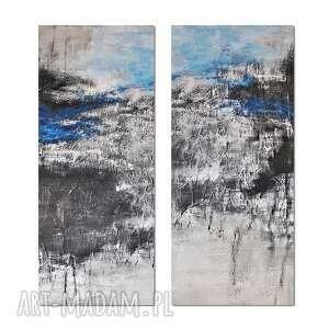tierra el hielo 5, abstrakcja, nowoczesny obraz ręcznie malowany
