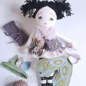ręczne wykonanie lalki lalka nocny motyl -ćma