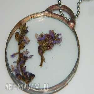 szklany witraż, wisior, wisior-miedziany, unikalna-biżuteria, unikatowa-biżuteria