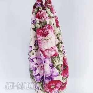 worek marynarski plecak kwiaty, worek, marynarski, plecak, xxl, oversize