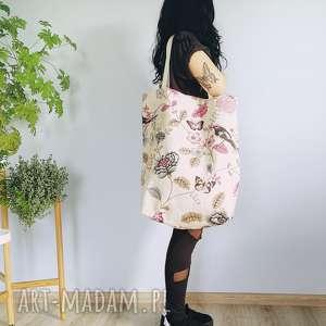 torba w kwiaty XXL, shopper, xxl, torba, torebka, worek, vintage