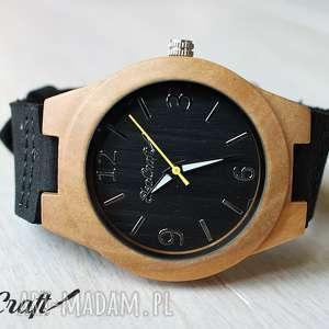 hand-made zegarki damski drewniany zegarek blackbird
