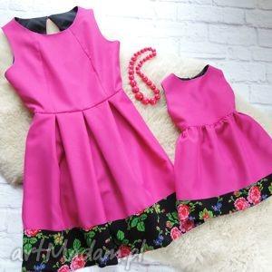 góralska sukienka dla mamy i córki folk cleo, sukienka, mama, córka, góralska