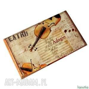 operowy - wizytownik, prezent, wizytówka, opera, muzyka, nuty, męski