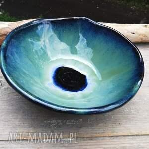 ceramika ceramiczna misa z oczkiem c308, misa, ceramika, kamionka
