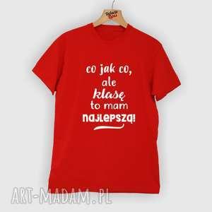 koszulka z nadrukiem dla nauczyciela, prezent na dzień edukacji, super