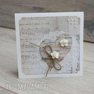 Kartka serce, serduszko, romantyczna, kartka, walentynka, urodzinowa