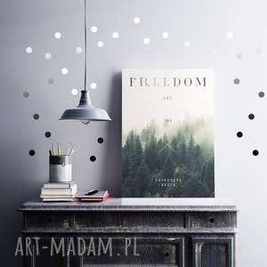 Freedom A2, freedom, plakat, przygoda, namiot, podróż, las