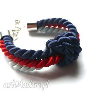 knot collection - navy blue knot, węzeł, supeł, sznurki, marynarski
