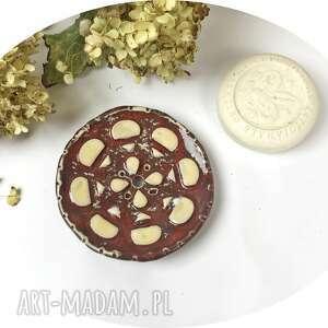ceramika ceramiczna mydelniczka la torta, polskie rzemiosło, polska