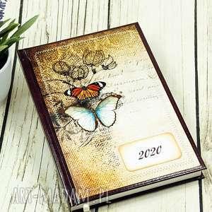 Kalendarz książkowy 2020 - motyle shiraja kalendarz, motyle