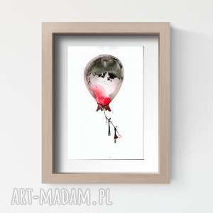 ART Krystyna Siwek? obrazek A4 malowany ręcznie, minimalizm