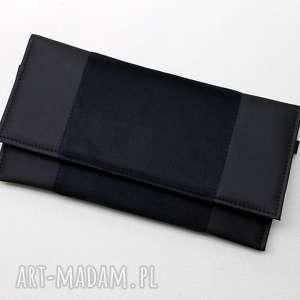 pomysł na prezent pod choinkę Kopertówka - czarna, elegancka, nowoczesna, wizytowa