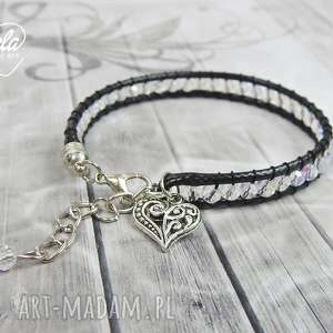 0705/mela bransoletka wrap bracelet pojedyncza, bransoletka, bracelet