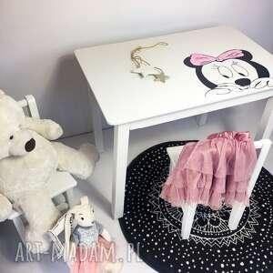 pokoik dziecka stolik biurko plus krzesełko - zestaw mebli dziecięcych myszka