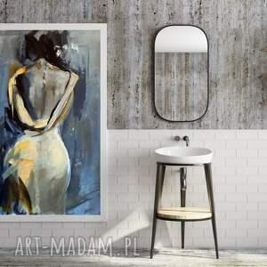 woman 100x70, obraz do salonu, zmysłowy obraz, miłość, sztuka salonu