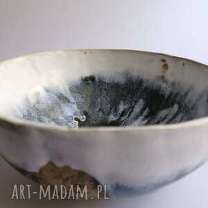 """Misa """"drzewa w bieli i szarości"""" ceramika evaart ceramika"""