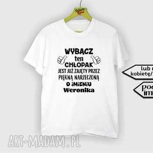 0a884656059c unikatowe koszulki - koszulka z nadrukiem dla narzeczonego super