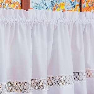 Zazdrostka cottage z bawełnianą koronką dekoracje manufaktura
