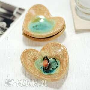 ceramika ceramiczna miseczka na drobiazki - piasek