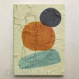 raro - wielkoformatowy obraz na płótnie abstrakcyjny art, kremowy obraz