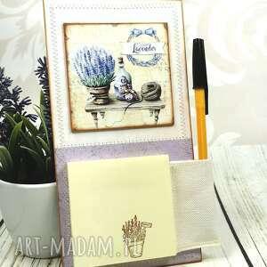 notes na lodówkę n18, magnes, notes, prezent, lodówkę, notatnik, lawenda