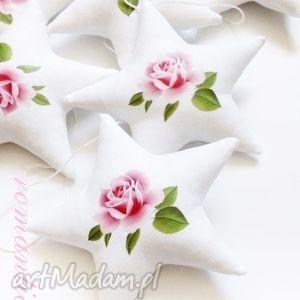 GWIAZDKI - girlanda wersja ROMANTIC, girlanda, gwiazdki, gwiazdka, róża, romantic