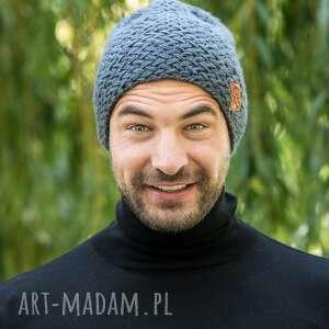 handmade czapki explorer stalowy rycerz