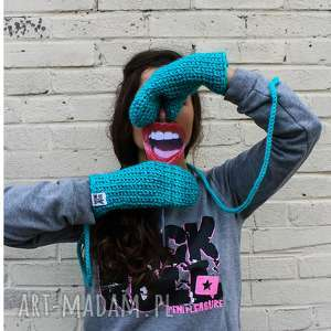 rękawiczki mode 7 - braininside, rękawiczki, dwupalczaste, zima