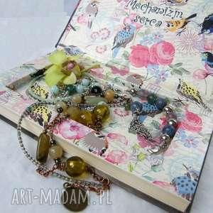 Szkatułka sekretna Mechanizm serca , sekretny-schowek, schowek, szkatułka, w-książce
