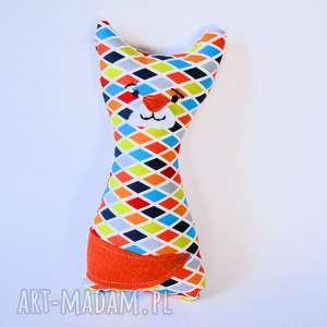 kotek mruczek piotrek 18 cm - kot, chłopczyk, dziewczynka, chrzciny, roczek