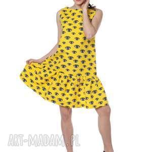 sukienki niezwykła, kobieca i zadziorna sukienka, wyróżnij się, designerska