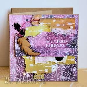 Kartka - wszystkiego najlepszego 1 kartki maly koziolek kartka